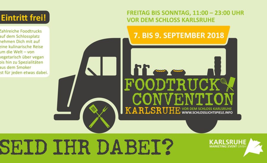 3. Foodtruck Convention Karlsruhe